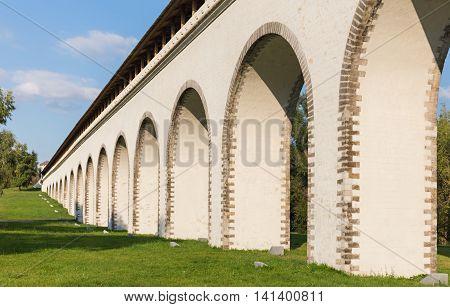 Perspective View Of Aqueduct Bridge
