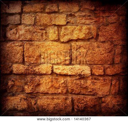 Marrom sujo parede em paris