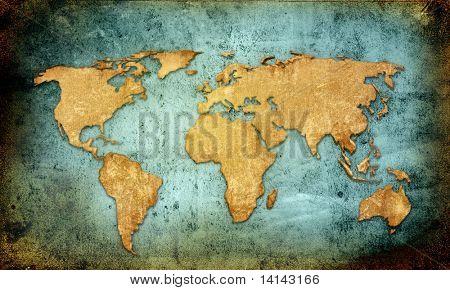 planos de fundo e texturas de mapa do mundo