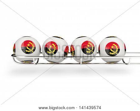 Flag Of Angola On Lottery Balls