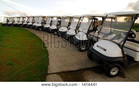 Roll Of Golf Carts
