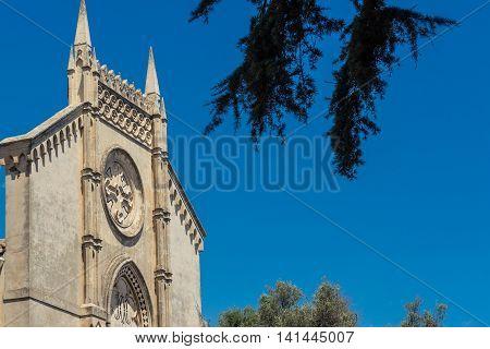 Sicilian Church View