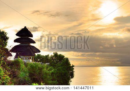 Uluwatu Temple, Bali, Indonesia...