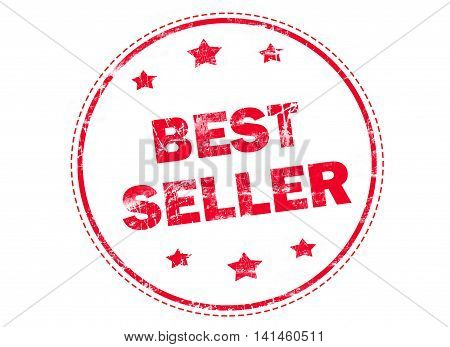 Best seller, Best price, Best choice on red grunge rubber stamp