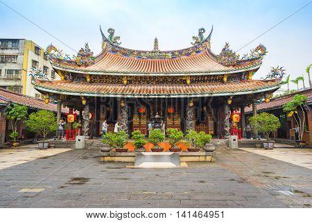 The Dalongdong Baoan Temple In Taipei, Taiwan
