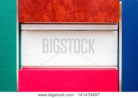 Template For The Text Of The Closed Hardcover Books