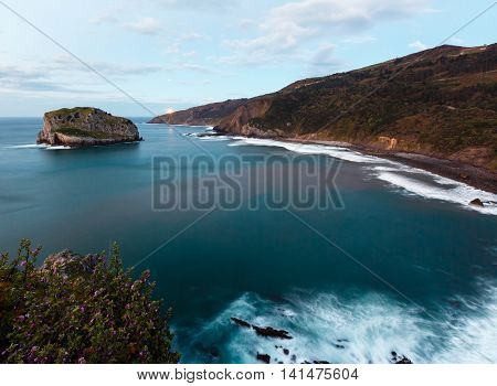 Biscay Bay Coast Landscape, Spain.
