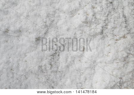Top view of Salt Detailed Texture Background