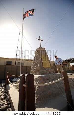 Memorial de Afganistán de soldados