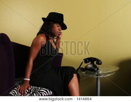 African American Woman Receiving Bad News