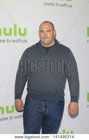 BEVERLY HILLS - AUG 5: Ethan Suplee at the HULU Summer Press Tour 2016 at the Beverly Hills Hilton Hotel on August 5, 2016 in Beverly Hills, California