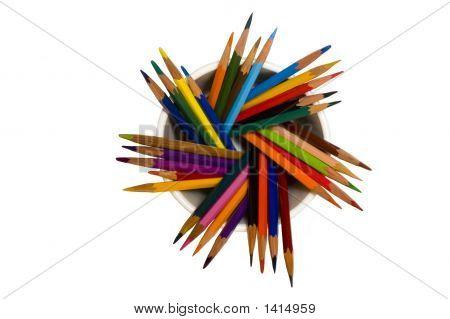 A Lot Of Pencils