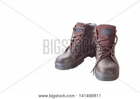 Safety shoes Shaped design shoes is important in everyday work.