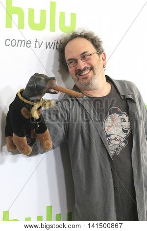 BEVERLY HILLS - AUG 5: Triumph the Insult Comic Dog, Robert Smigel at the HULU Summer Press Tour 2016 at the Beverly Hills Hilton Hotel on August 5, 2016 in Beverly Hills, California