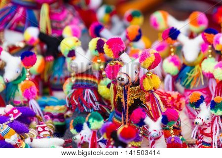 Peruvian Souvenir Dolls