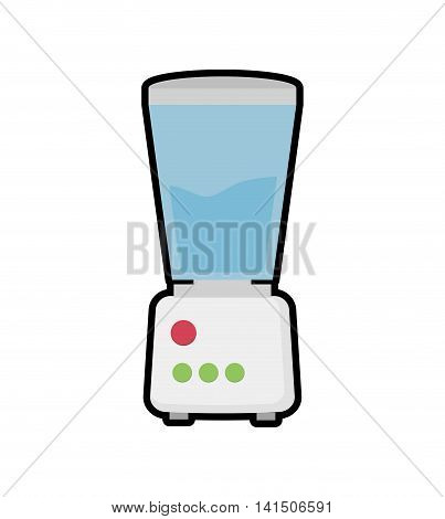 blender house technology appliance icon. Isolated and flat illustration. Vector graphic