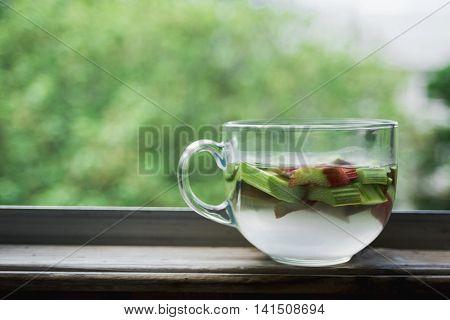 Beverage Of Rhubarb