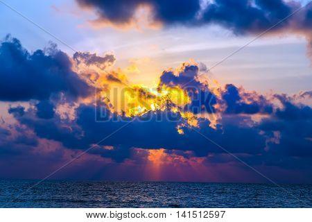 Background Sunse