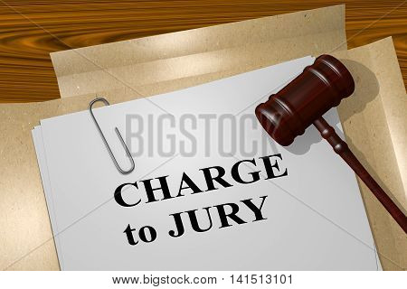 Charge To Jury - Legal Concept