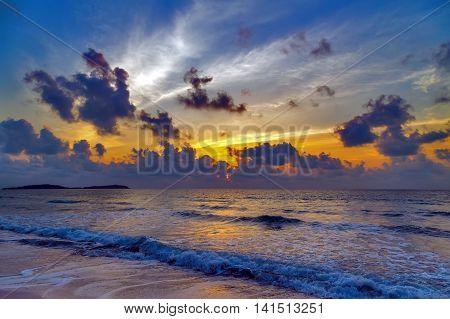 Sunset Sunrise Seascape