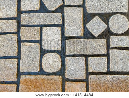 Wall Geometry Stone