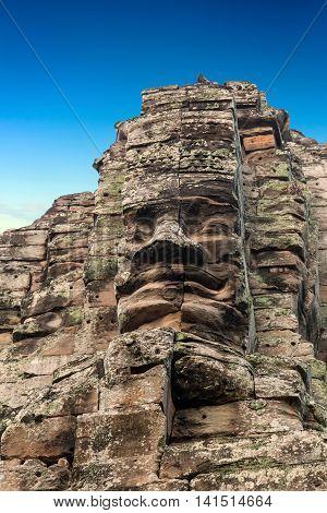 Face Statuary, Angkor, Cambodia