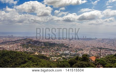 Barcelona Skyline.