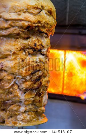 Turkish Food Doner Kebab