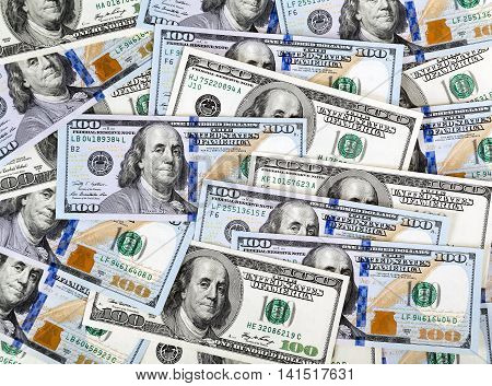 currency heap of dollars money background, outdoor activity on vacations