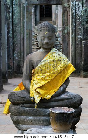 Buddha In Old Temple
