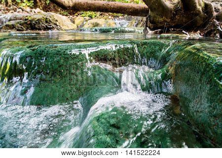Hot Waterfall (nam Tok Rawn) - Krabi Province