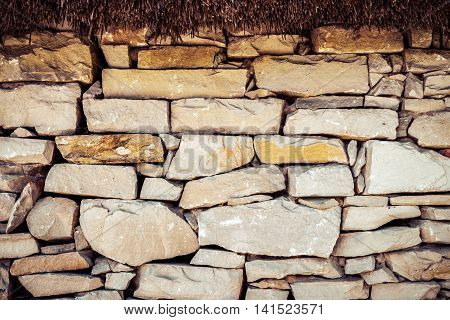Fence Stone Texture Background