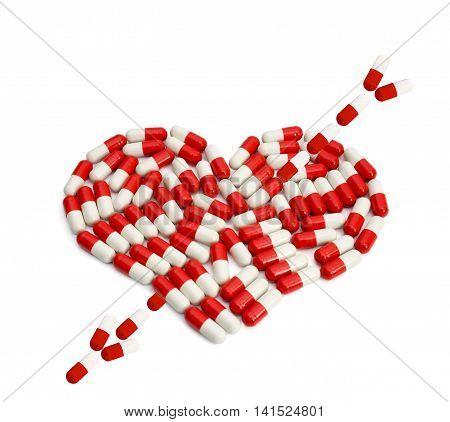 Red Pills Heart Capsule