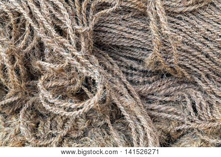 strip rope texture background sailing tied knot