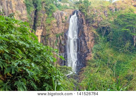 Devon Falls Sri Lanka Waterfall
