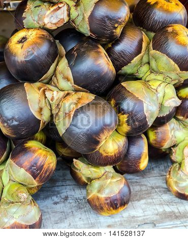 garcinia mangostana tropical mangosteen fruit asia exotic