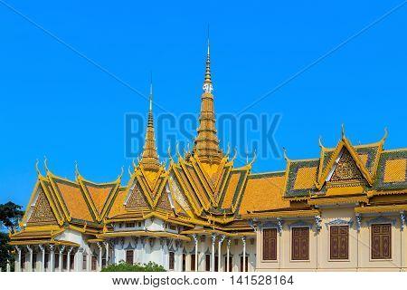 Royal Palace Pnom Penh, Famous Cambodia
