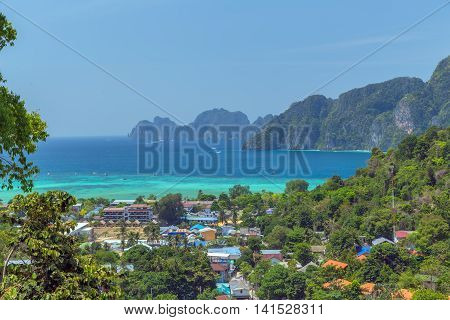 View Point Koh Phi Phi Don In Thailand
