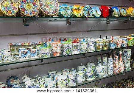 Ceramic Souvenirs In Barcelona