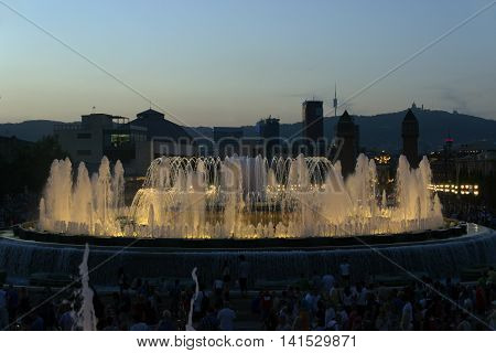 Fountain Of Montjuic