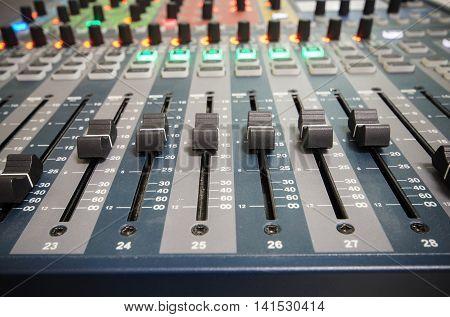 Sound controller /  Sound mixer / Mixing console