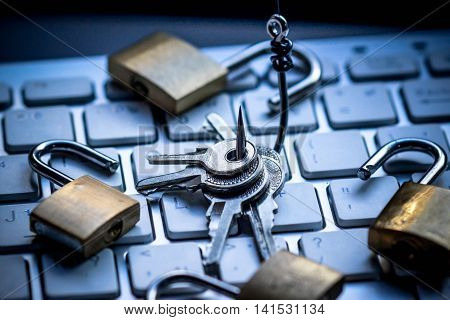 Phishing attack computer system / Computer threat