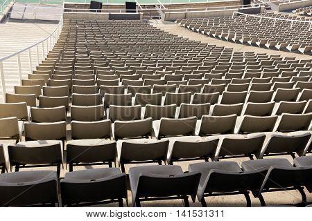 Row Of The Easy Chair Stadium