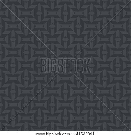 Geometrical seamless pattern. Modern stylish texture. Regularly repeating geometric rhombus shapes. Vector abstract background