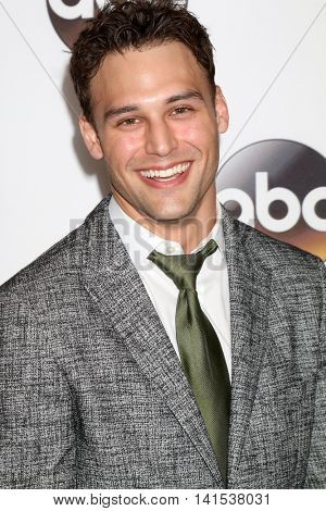 LOS ANGELES - AUG 4:  Ryan Guzman at the ABC TCA Summer 2016 Party at the Beverly Hilton Hotel on August 4, 2016 in Beverly Hills, CA