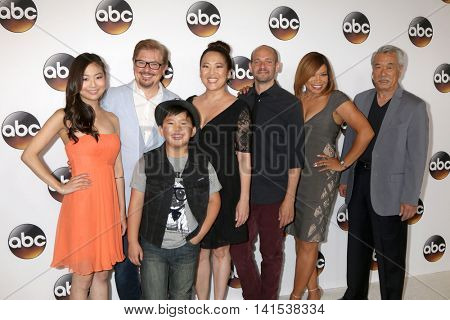 LOS ANGELES - AUG 4:  Dr. Ken supporting cast at the ABC TCA Summer 2016 Party at the Beverly Hilton Hotel on August 4, 2016 in Beverly Hills, CA