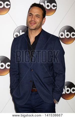 LOS ANGELES - AUG 4:  Daniel Sunjata at the ABC TCA Summer 2016 Party at the Beverly Hilton Hotel on August 4, 2016 in Beverly Hills, CA