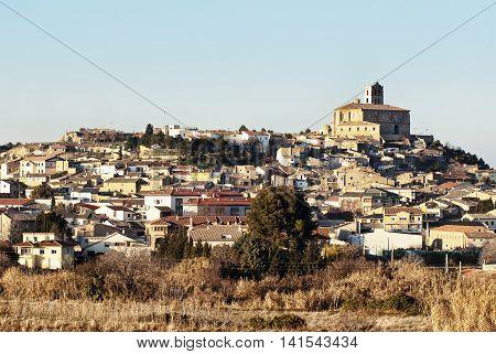 Rural landscape, Magallon, Zaragoza Province, Aragon, Spain