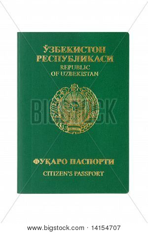 Uzbekistan Passport