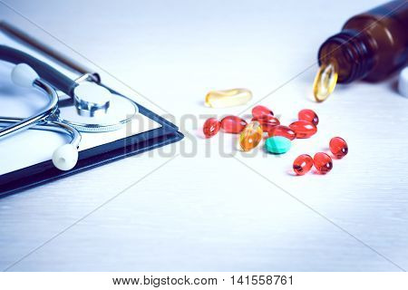 Prescription pills medication for the treatment of disease